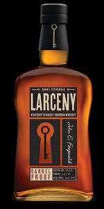Larceny Barrel Proof Batch #B521. Image courtesy Heaven Hill Distillery.