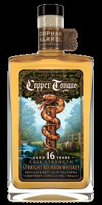 Orphan Barrel Copper Tongue Bourbon. Inmage courtesy Orphan Barrel Distilling Co./Diageo.