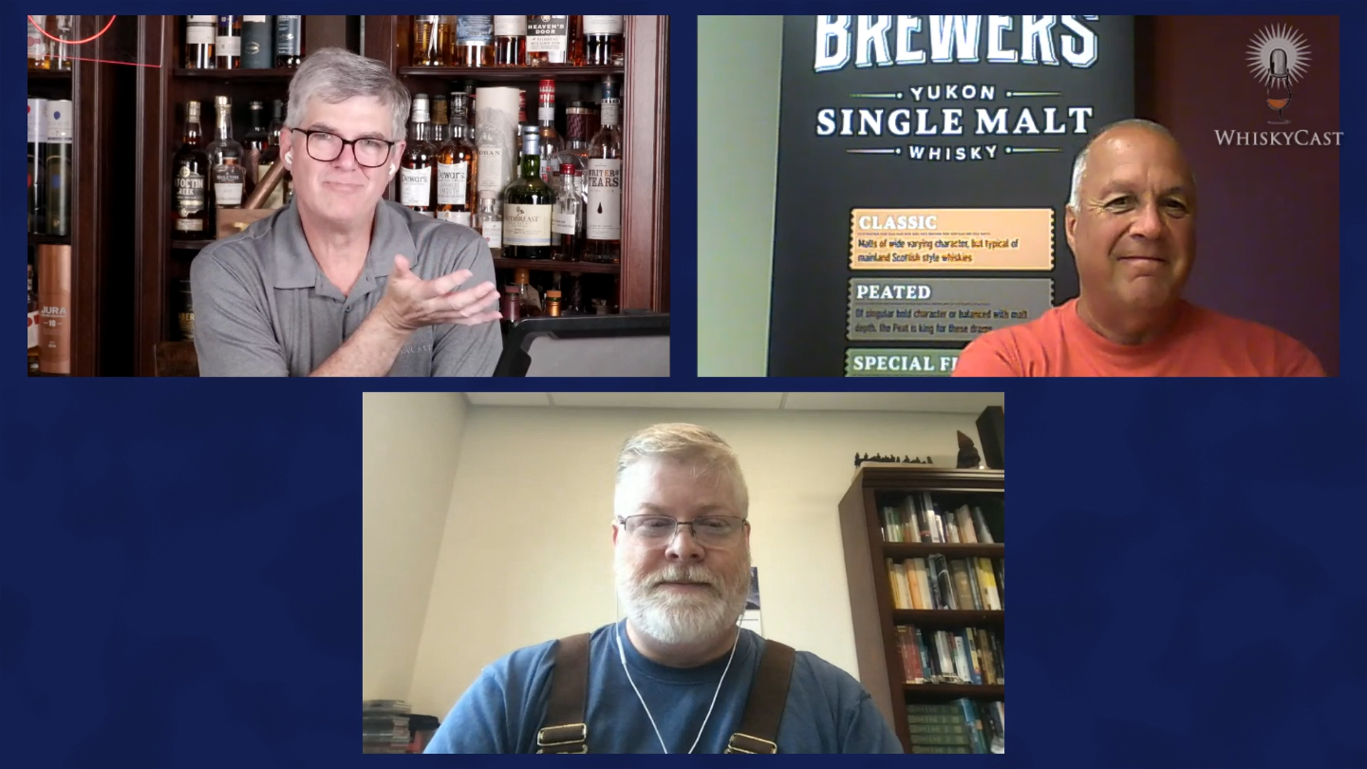 Bob Baxter of Yukon Spirits/Two Brewers Whisky and Todd Leopold of Leopold Bros. in Denver joined us on Friday night's live webcast. We'll have an audio version available soon.