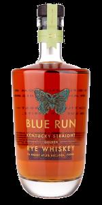 Blue Run Golden Rye Whiskey. Image courtesy Blue Run Spirits.
