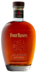 Four Roses 2021 Limited Edition Small Batch Bourbon. Image courtesy Four Roses Distillery.