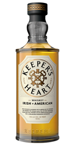 Keepers Heart Irish + American Whiskey. Image courtesy O'Shaughnessy Distilling.