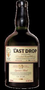 The Last Drop Colin J.P. Scott Signature Blend. Image courtesy The Last Drop Distillers.
