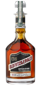 Old Fitzgerald Bottled in Bond Bourbon Fall 2021 Edition. Image courtesy Heaven Hill Distillery.