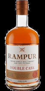 Rampur Double Cask Indian Single Malt Whisky. Image courtesy Rampur/Radico Khaitan.