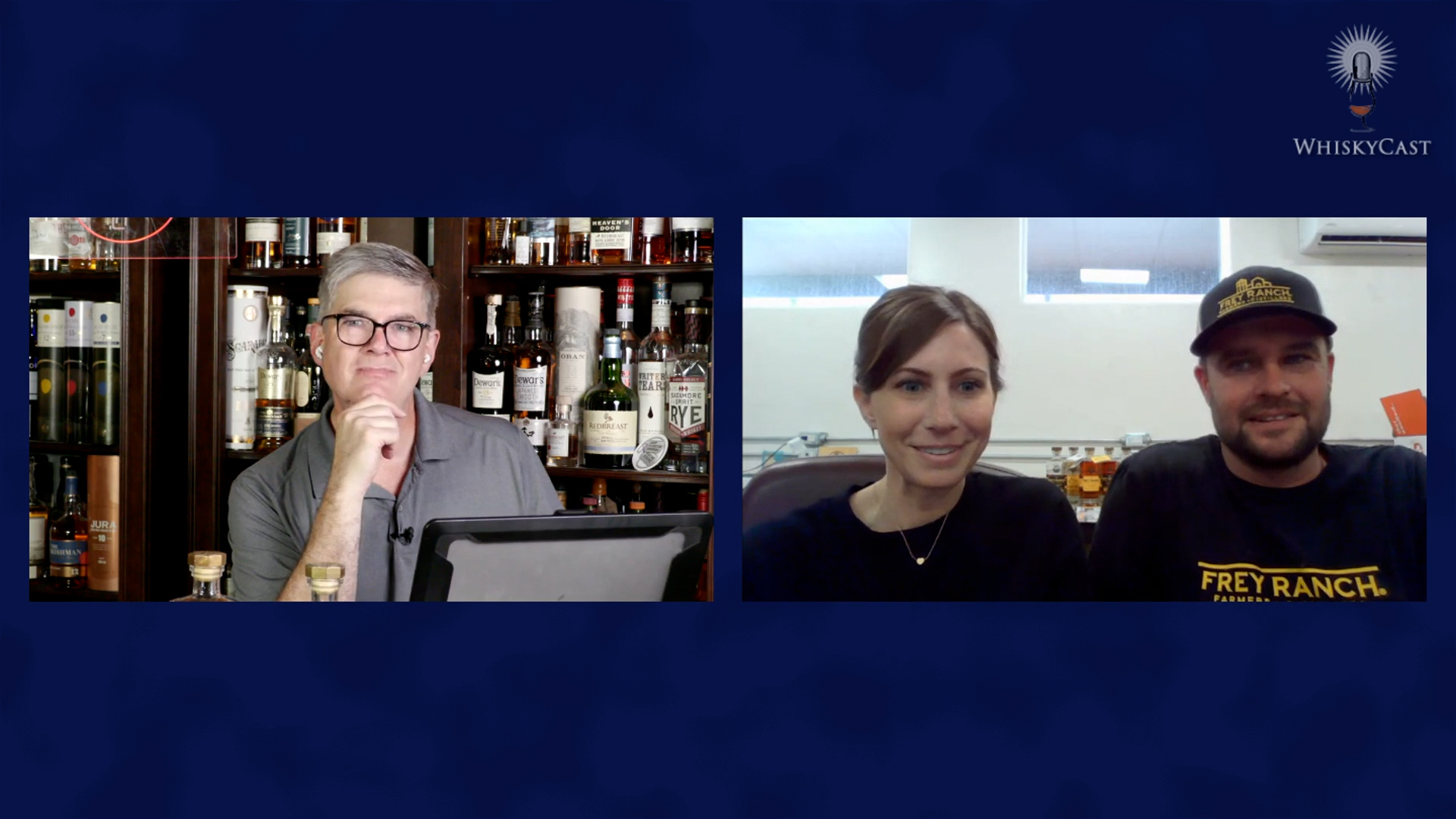 Ashley and Colby Frey of Nevada's Frey Ranch Distillery joined us for the latest webcast, along with actor and whisky lover Beth Behrs and Gareth Howells of Aberfeldy. The on-demand replay is available now at our YouTube channel.